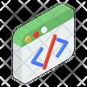 Web Coding Icon