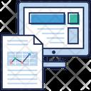 Web coding report Icon