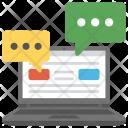 Web Communication Social Icon