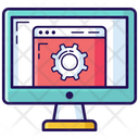 Web Setting Web Development Web Configuration Icon
