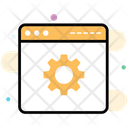 Web Development Web Configuration Website Settings Icon