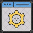 Web Configuration Web Emoji Website Smiley Icon