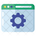 Web Configuration Web Advancement Web Development Icon