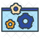 Web Configuration Web Development Web Setting Icon