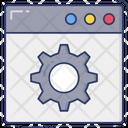 Web Configuration Website Maintenance Web Service Icon