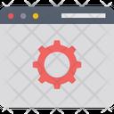 Web Configuration Web Development Web Engineering Icon