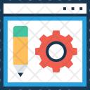 Web Configure Setup Icon