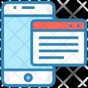 Webcontent Iphone Device Icon