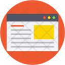 Web Content Icon