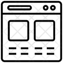 Web Content Ui Ux Icon