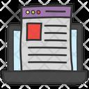 Web Layout Web Design Web Content Icon