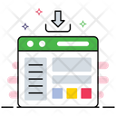 Web Content Web Layout User Interface Icon