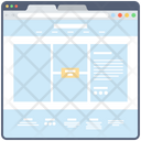 Web Content Website Sitemap Web Window Icon