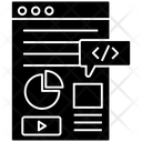 Web Content Web Layout Website Design Icon