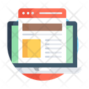 Web Design Web Template Web Layout Icon