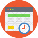 Web Content Timer Icon