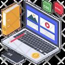 Web Content Management Article Blog Icon