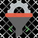 Web Conversion Funnel Icon