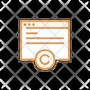 Web Copyright Website Web Page Copyright Icon