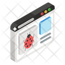 Web Crawler Virus Bug Icon