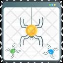 Data Crawler Web Crawler Web Spider Icon