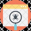 Web Crawler Scraper Icon