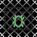 Web Crawler Bug Icon