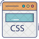 Web Css Css Code Css Programing Icon