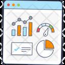 Web Speedometer Web Dashboard Web Gauge Icon