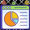 Web Dashboard Website Data Web Analytics Icon