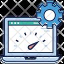 Web Dashboard Configuration Browser Dashboard Icon