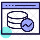 Web Analytics Web Data Analysis Data Analytics Icon