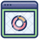 Web Data Analytics Circle Chart Doughnut Chart Icon