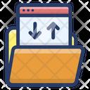 Web Data Folder Icon
