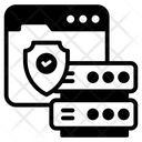 Web Data Protection Icon