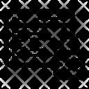 Web Data Security Icon