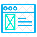 Website Design Webpage Design Web Designing Icon