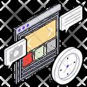 Web Design Web Development Web Coding Icon