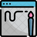 Brush Paint Interface Icon