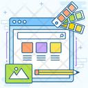 Graphic Design Website Web Designing Graphic Designing Icon