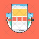 Web Design Layout Icon