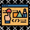 Webdesign Designing Design Icon