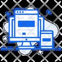 Web Design Responsive Design Responsive Web Icon