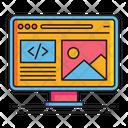Web Design Designing Website Making A Website Icon