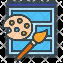 Web Design Web Layout Web Template Icon