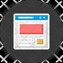 Web Design Web Page Web Template Icon