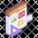 Graphic Designing Web Design Website Coding Icon