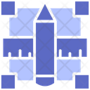 Arrow Expand Scale Icon