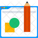 Web Design Design Website Icon