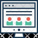 Web Design Wireframe Icon